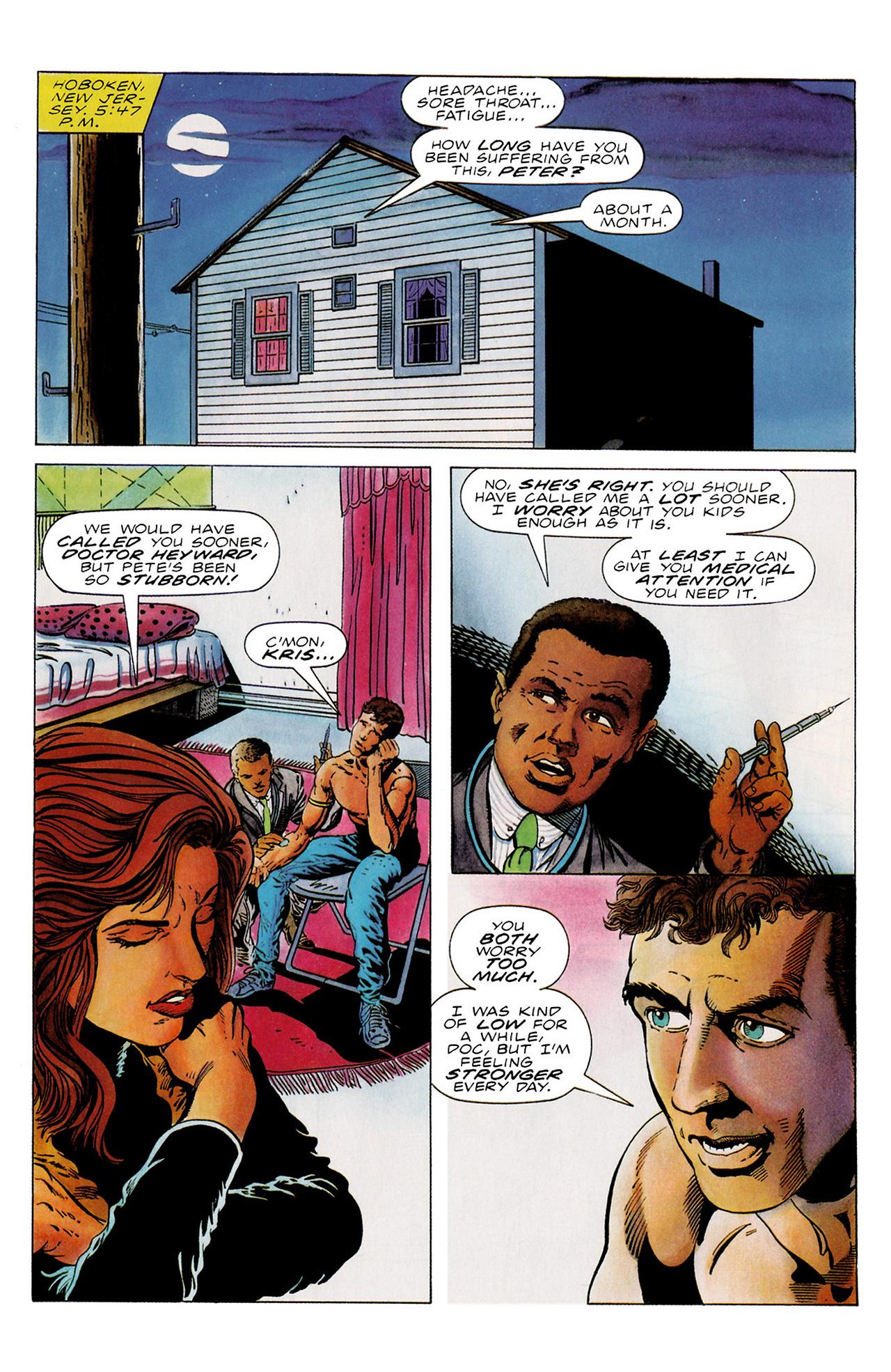 Read online Harbinger (1992) comic -  Issue #18 - 7