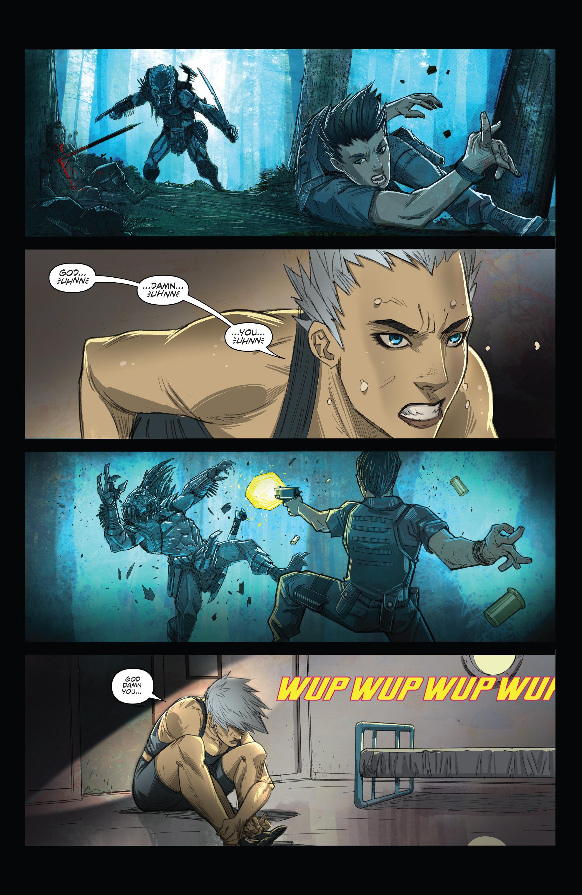 Read online Predator: Hunters comic -  Issue #2 - 7