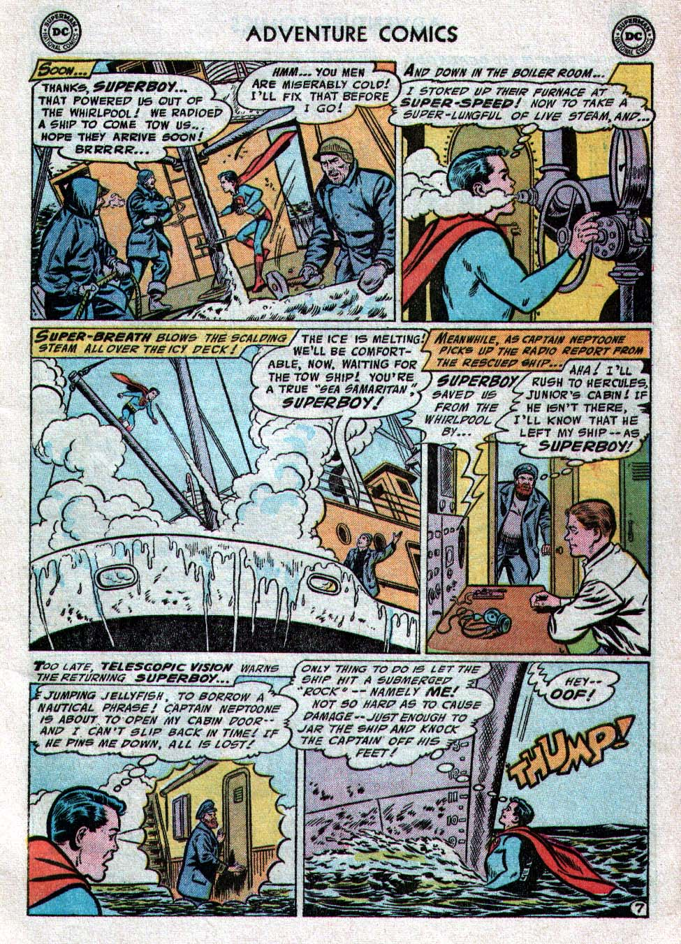 Read online Adventure Comics (1938) comic -  Issue #223 - 9