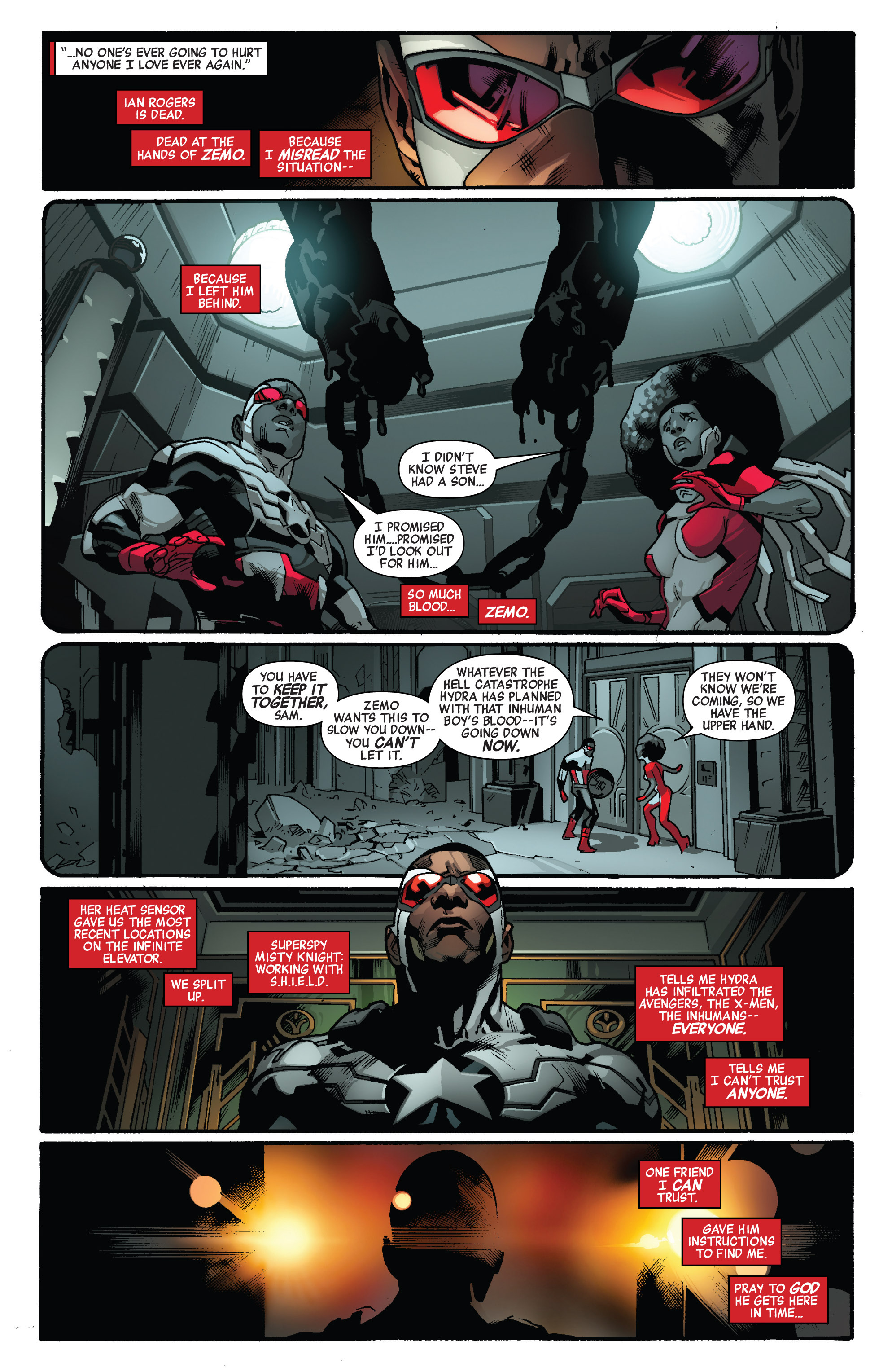 Read online All-New Captain America comic -  Issue #3 - 4