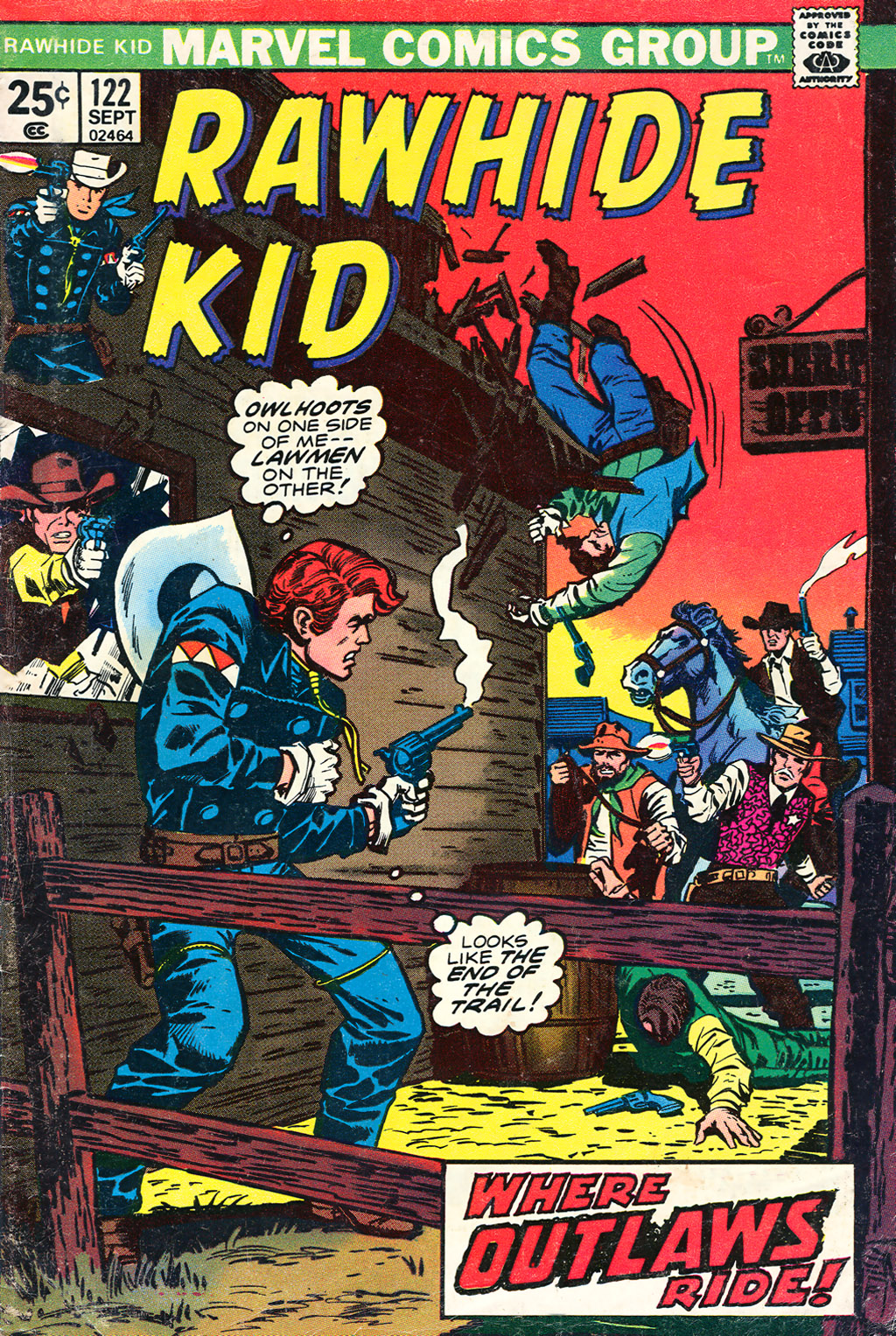 The Rawhide Kid (1955) issue 122 - Page 1