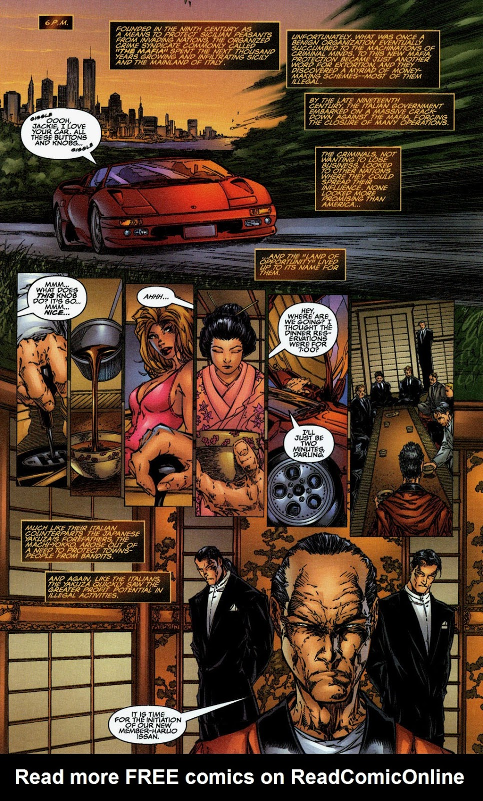 Read online The Darkness (1996) comic -  Issue #0 - 4