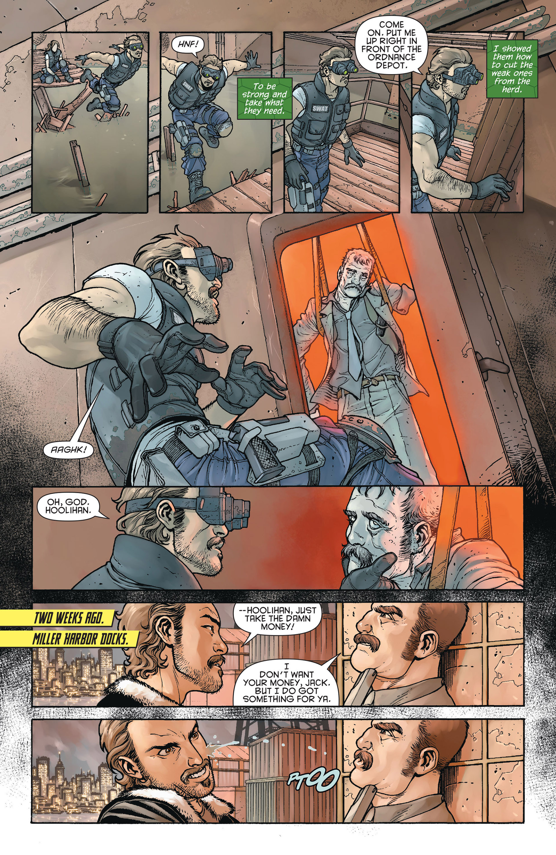 Read online Batman and Robin (2011) comic -  Issue #23.4 - 12