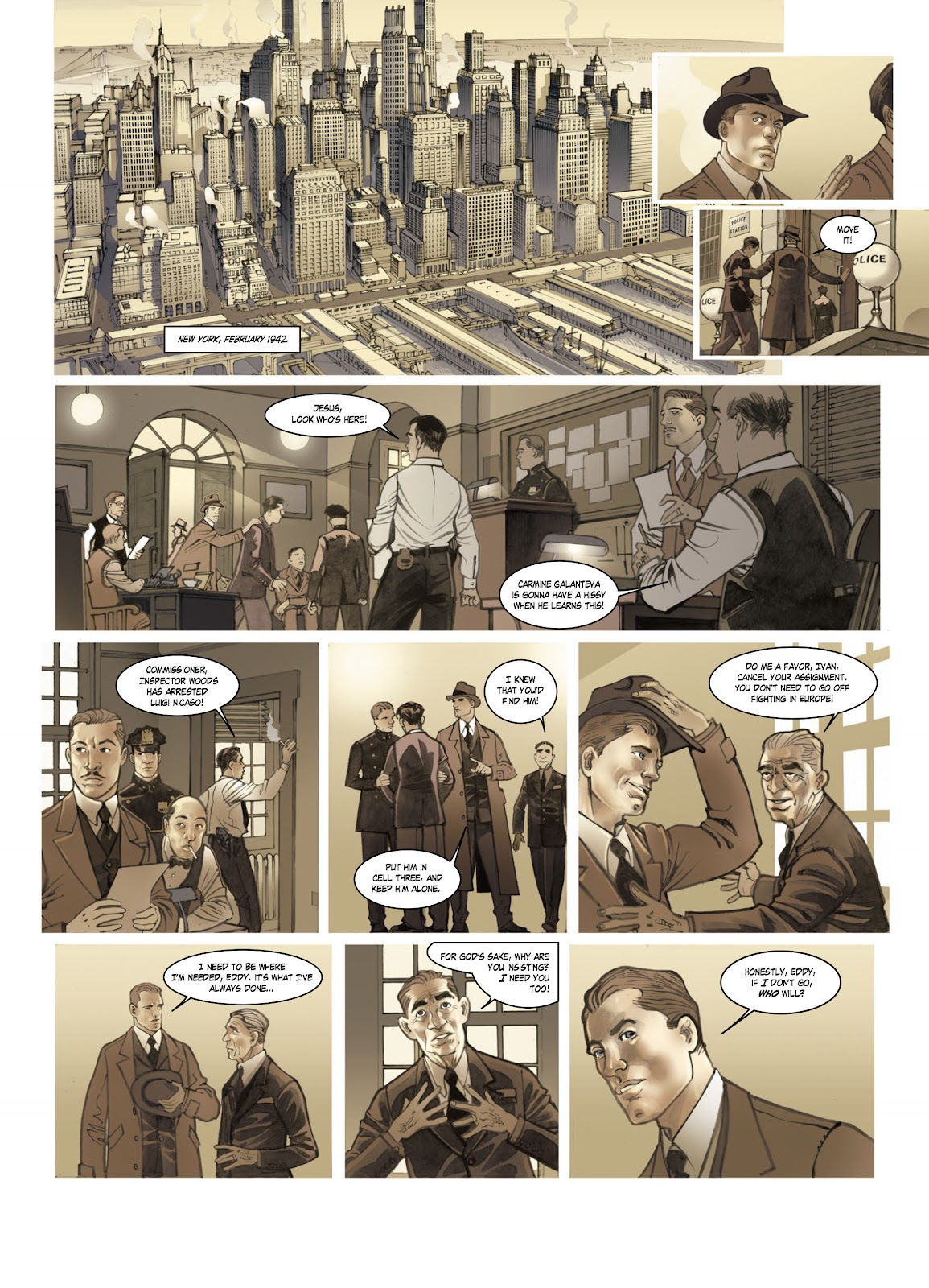 Read online Opération Overlord comic -  Issue #1 - 7
