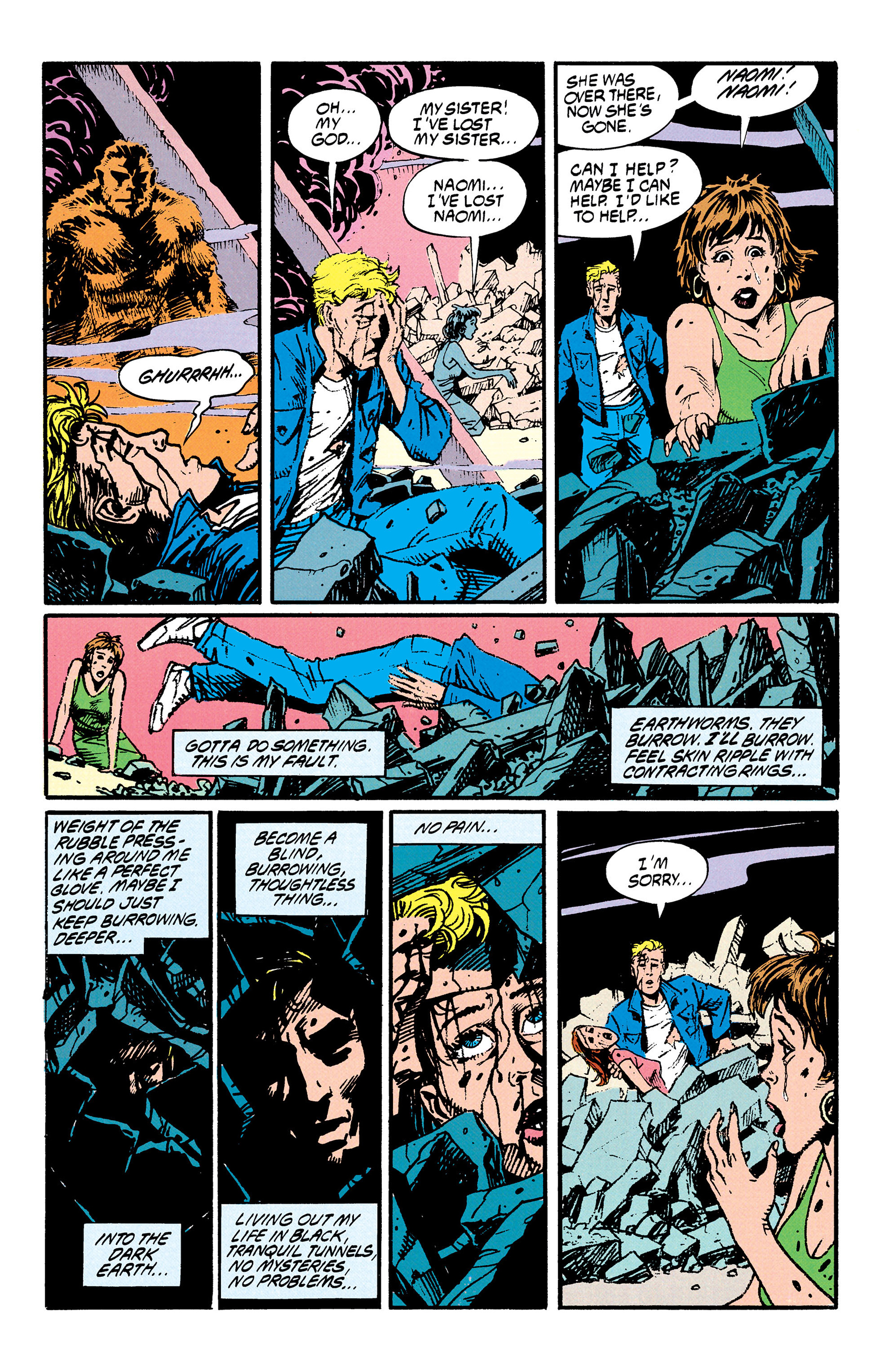 Read online Animal Man (1988) comic -  Issue #29 - 3