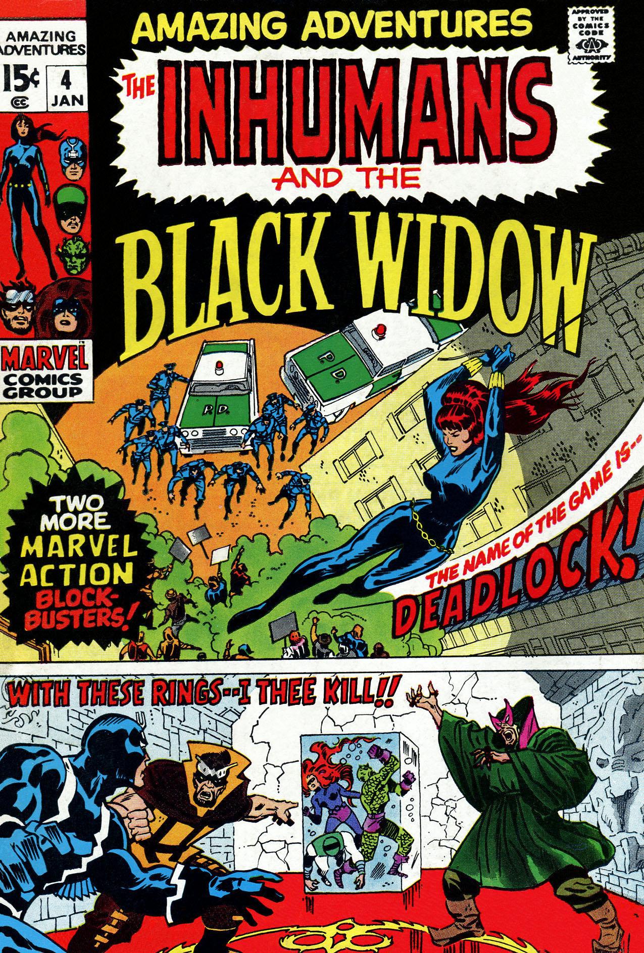 Read online Amazing Adventures (1970) comic -  Issue #4 - 1