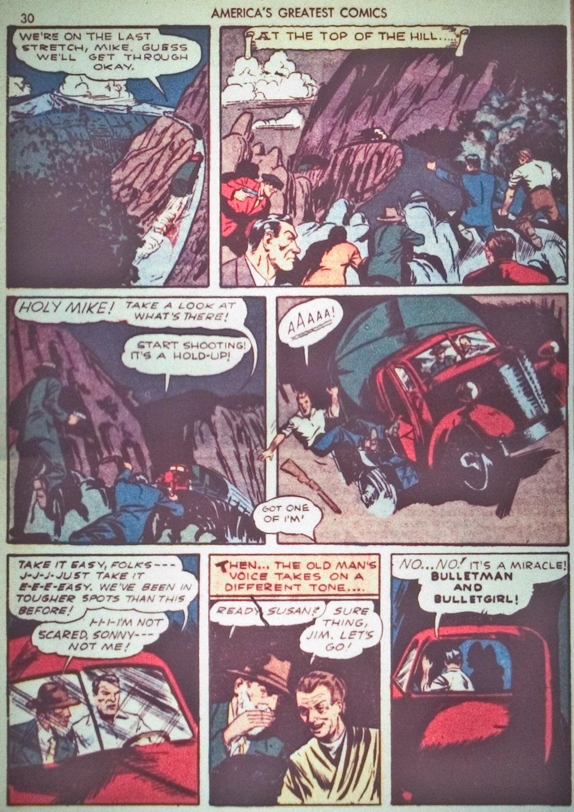 Read online America's Greatest Comics comic -  Issue #1 - 33