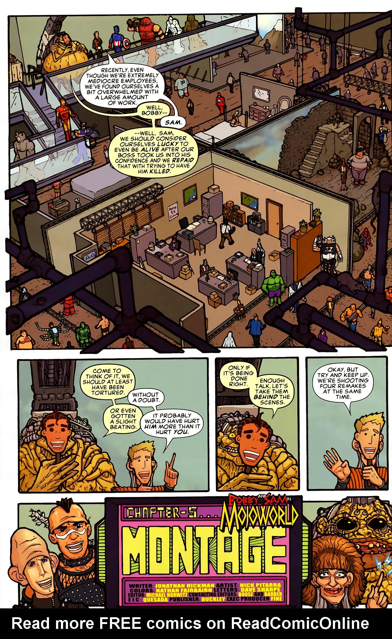Read online Astonishing Tales (2009) comic -  Issue #5 - 28