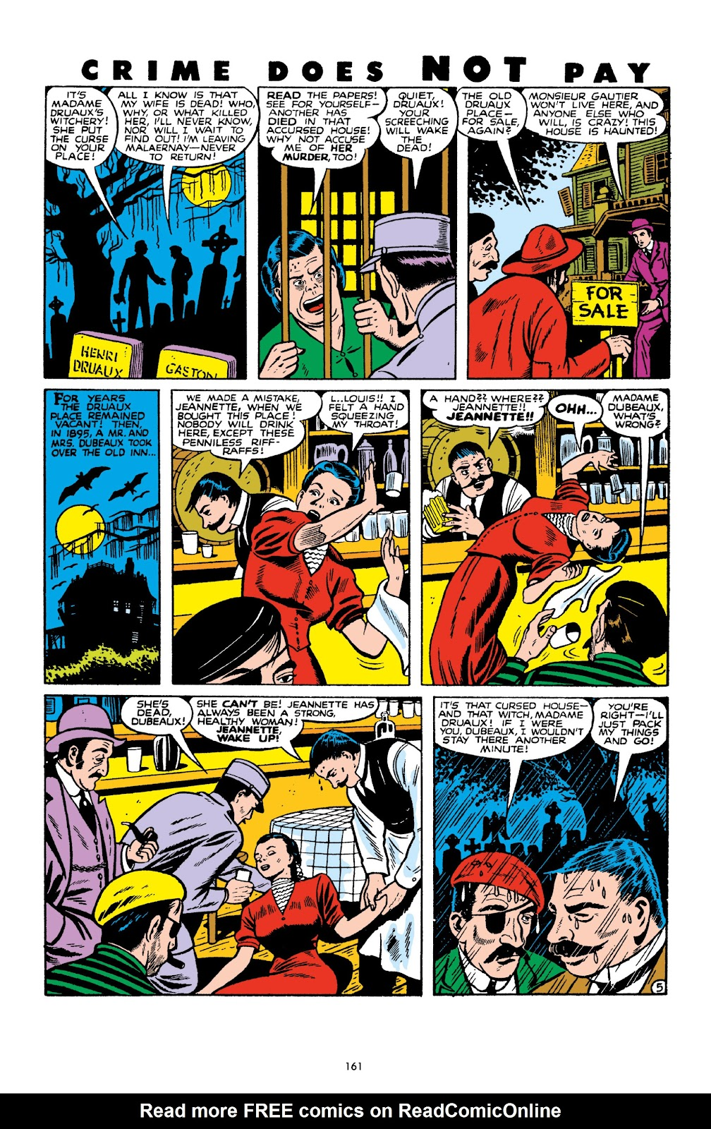 Read online Crime Does Not Pay Archives comic -  Issue # TPB 10 (Part 2) - 62