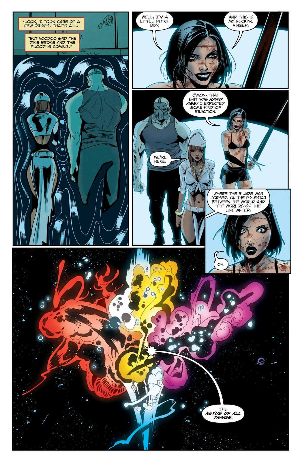Read online Hack/Slash vs. Chaos comic -  Issue #3 - 22