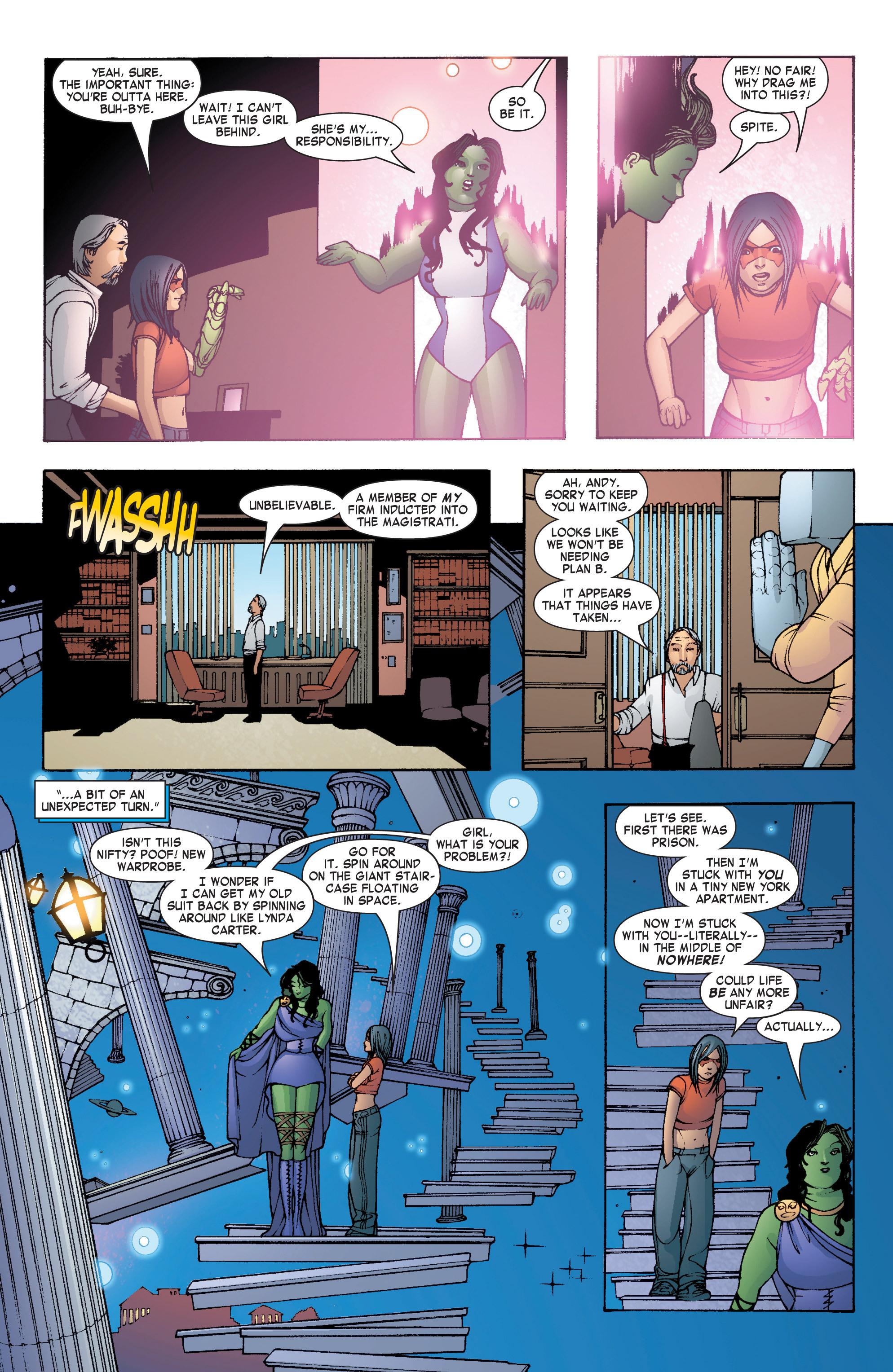 Read online She-Hulk (2004) comic -  Issue #7 - 12