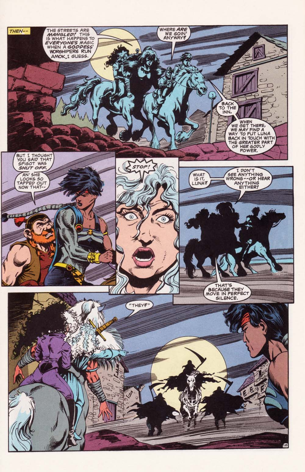 Read online Advanced Dungeons & Dragons comic -  Issue #22 - 10