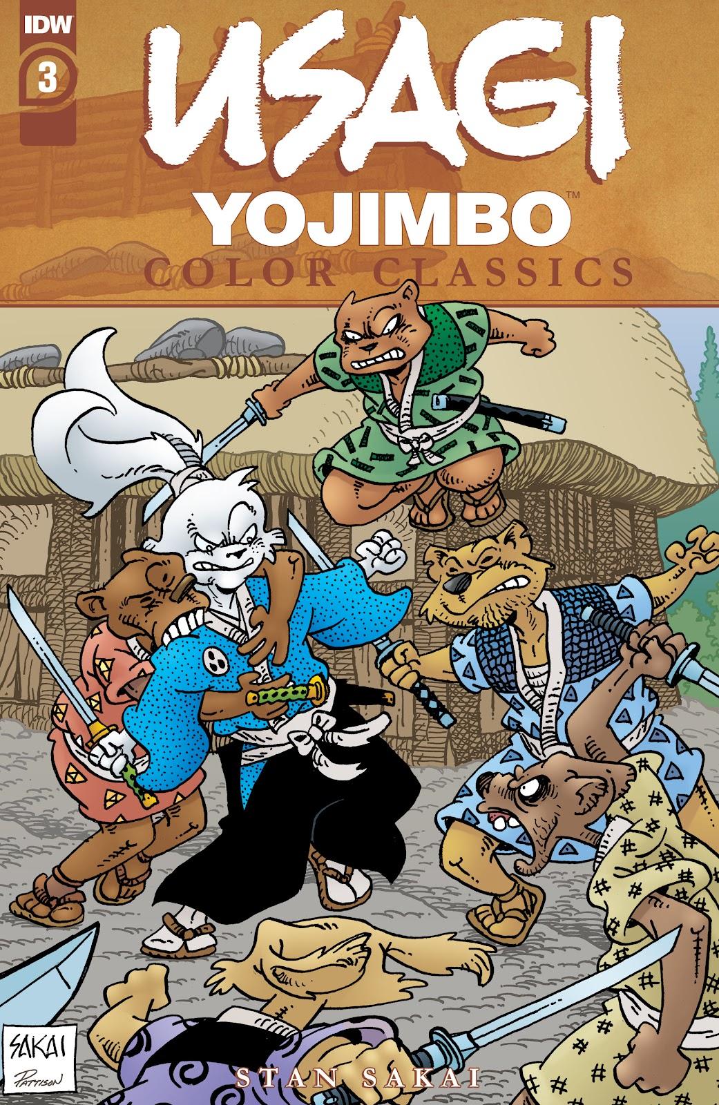 Usagi Yojimbo Color Classics issue 3 - Page 1