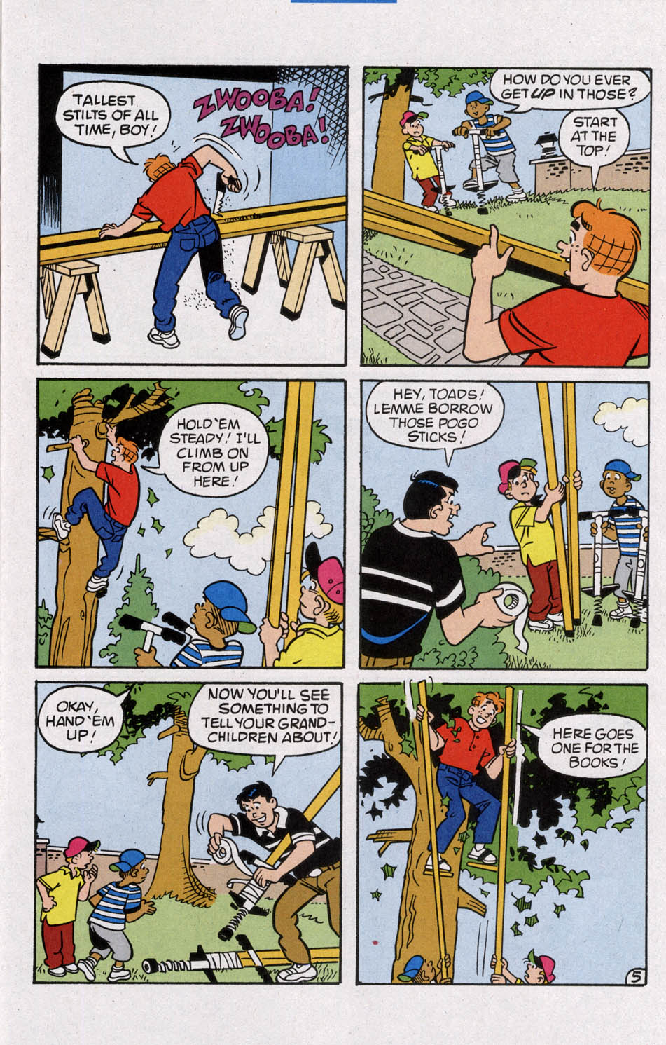 Read online Archie (1960) comic -  Issue #535 - 17