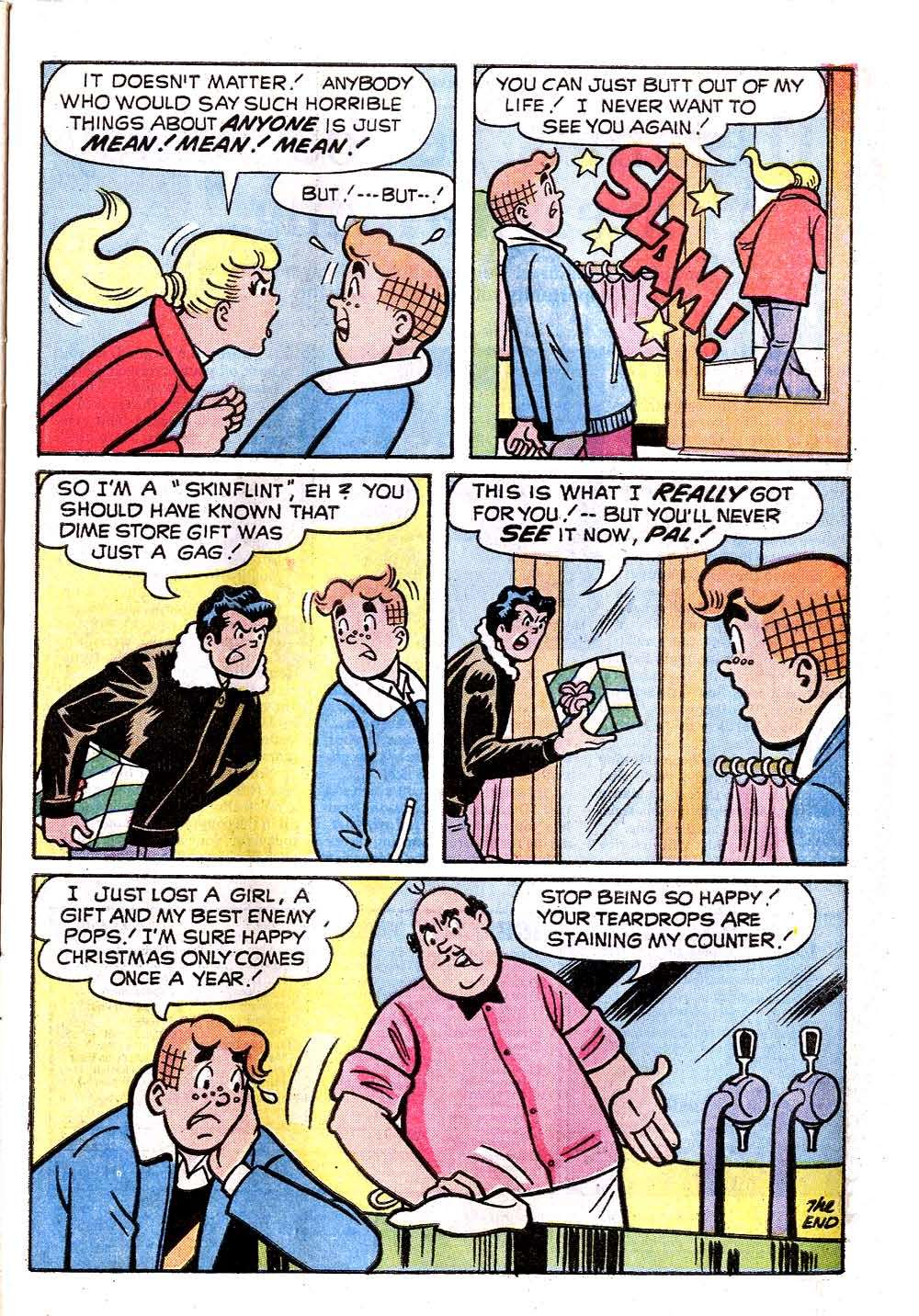 Read online Archie (1960) comic -  Issue #232 - 33