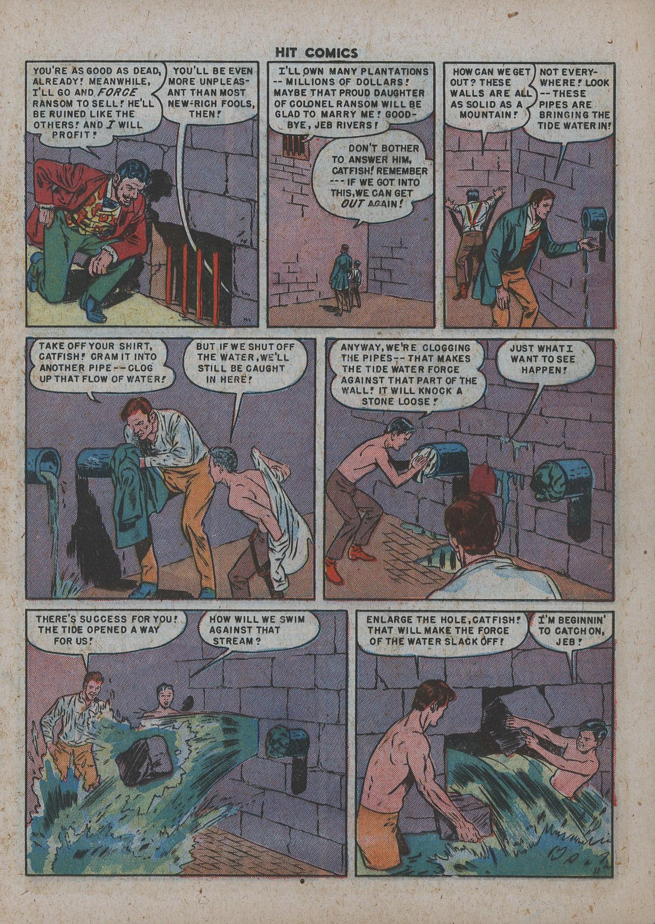 Read online Hit Comics comic -  Issue #63 - 13
