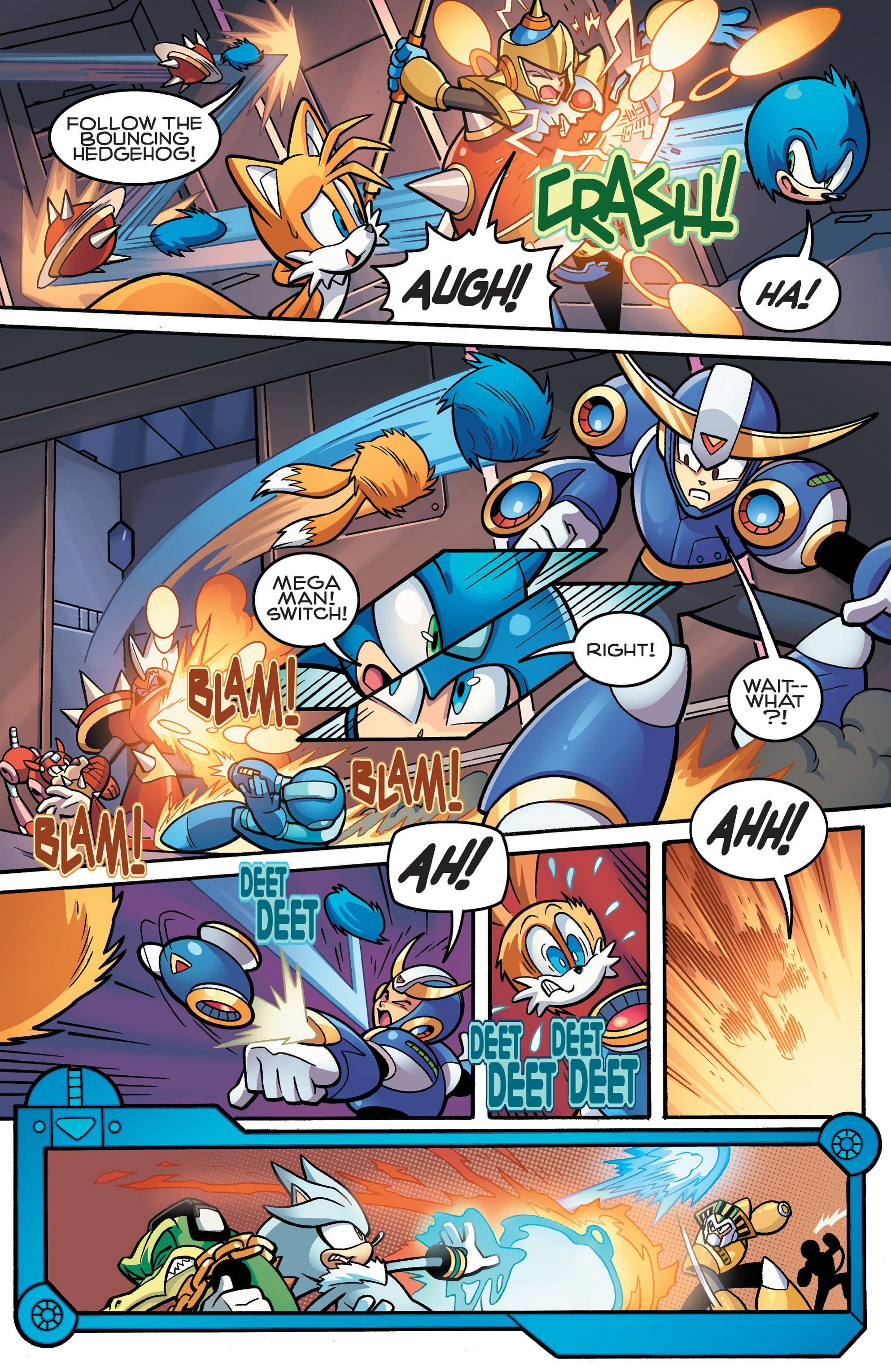 Read online Sonic Mega Man Worlds Collide comic -  Issue # Vol 3 - 60