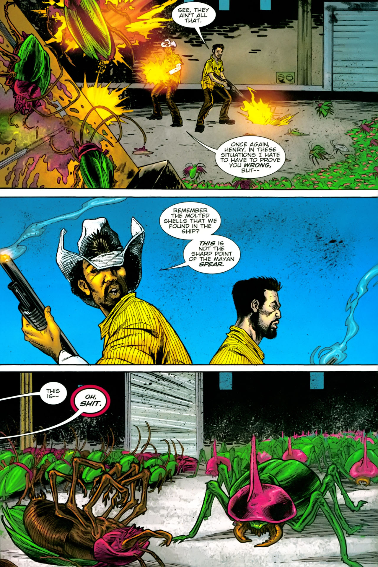 Read online The Exterminators comic -  Issue #22 - 5