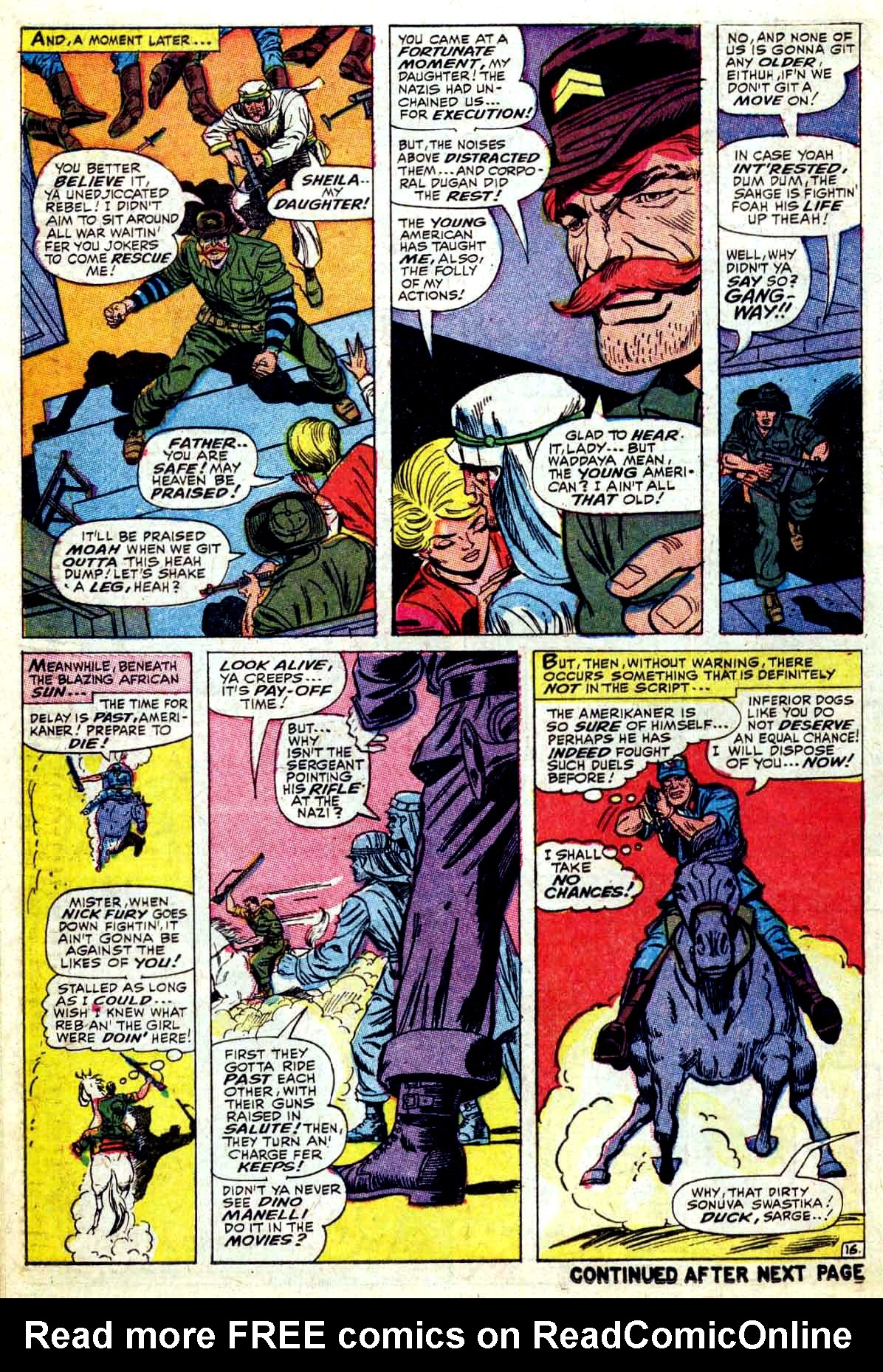 Read online Sgt. Fury comic -  Issue #37 - 22