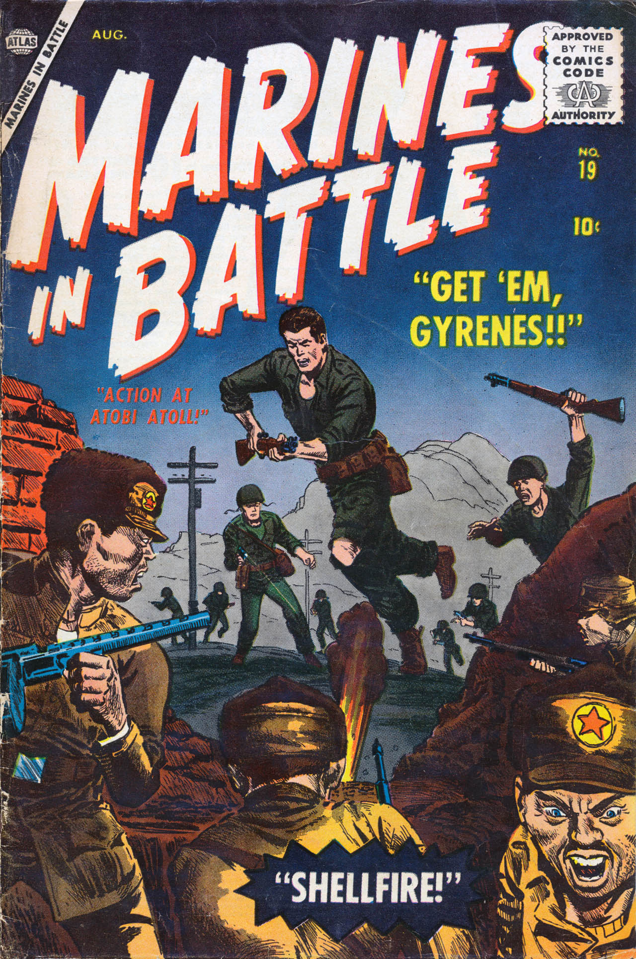 Marines in Battle 19 Page 1