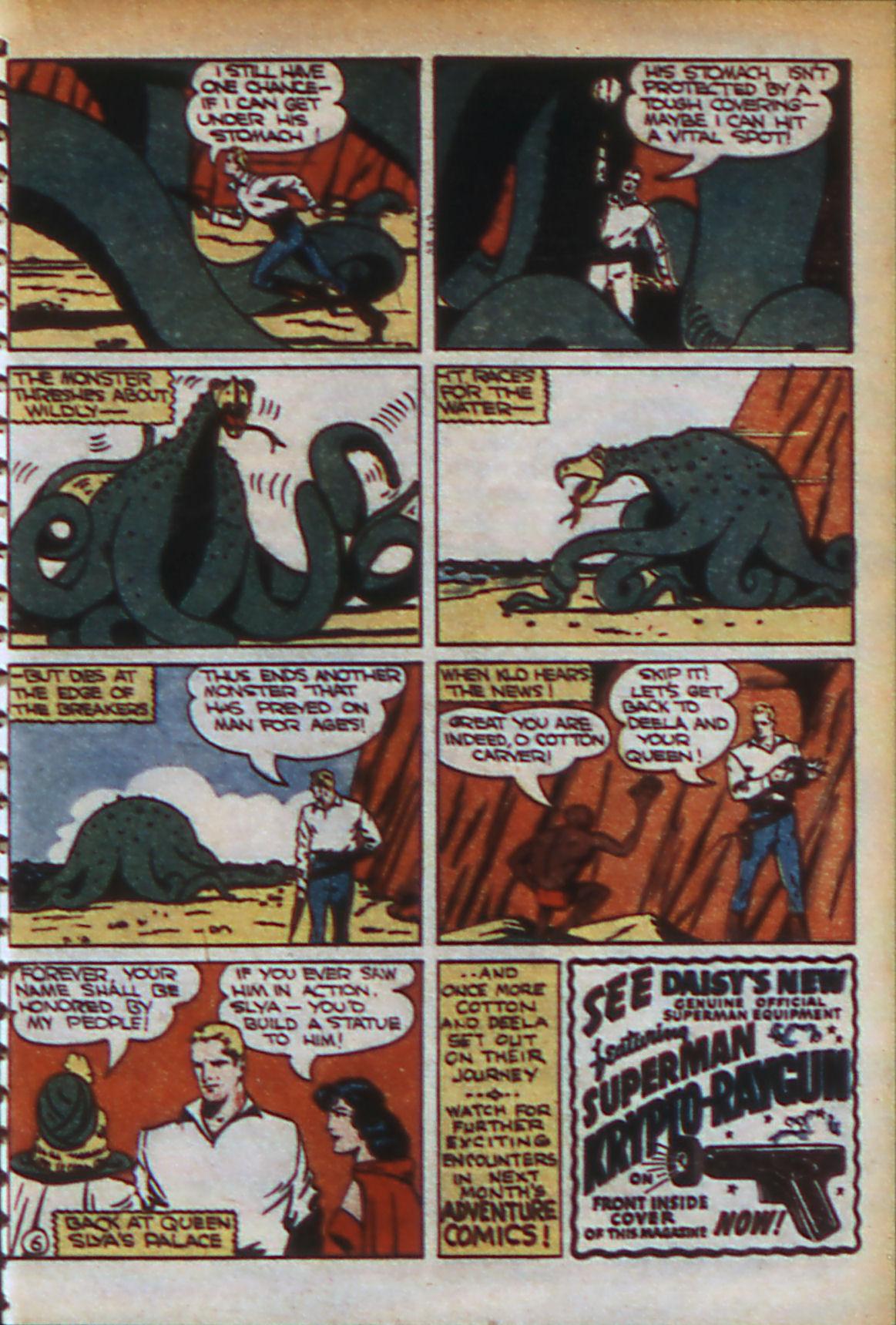Read online Adventure Comics (1938) comic -  Issue #56 - 38