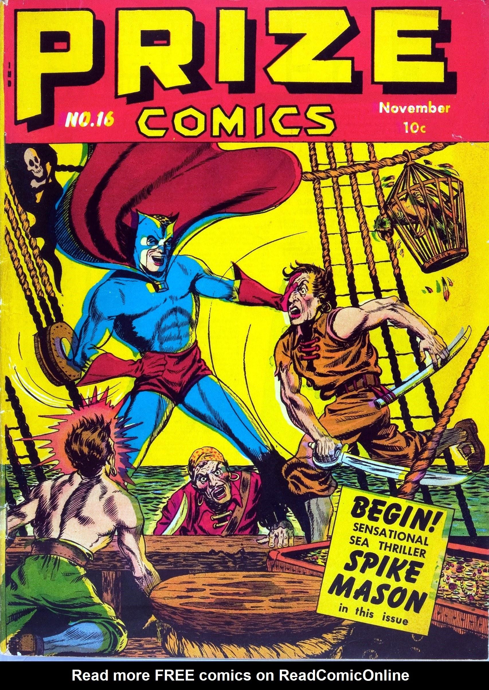 Prize Comics 16 Page 1