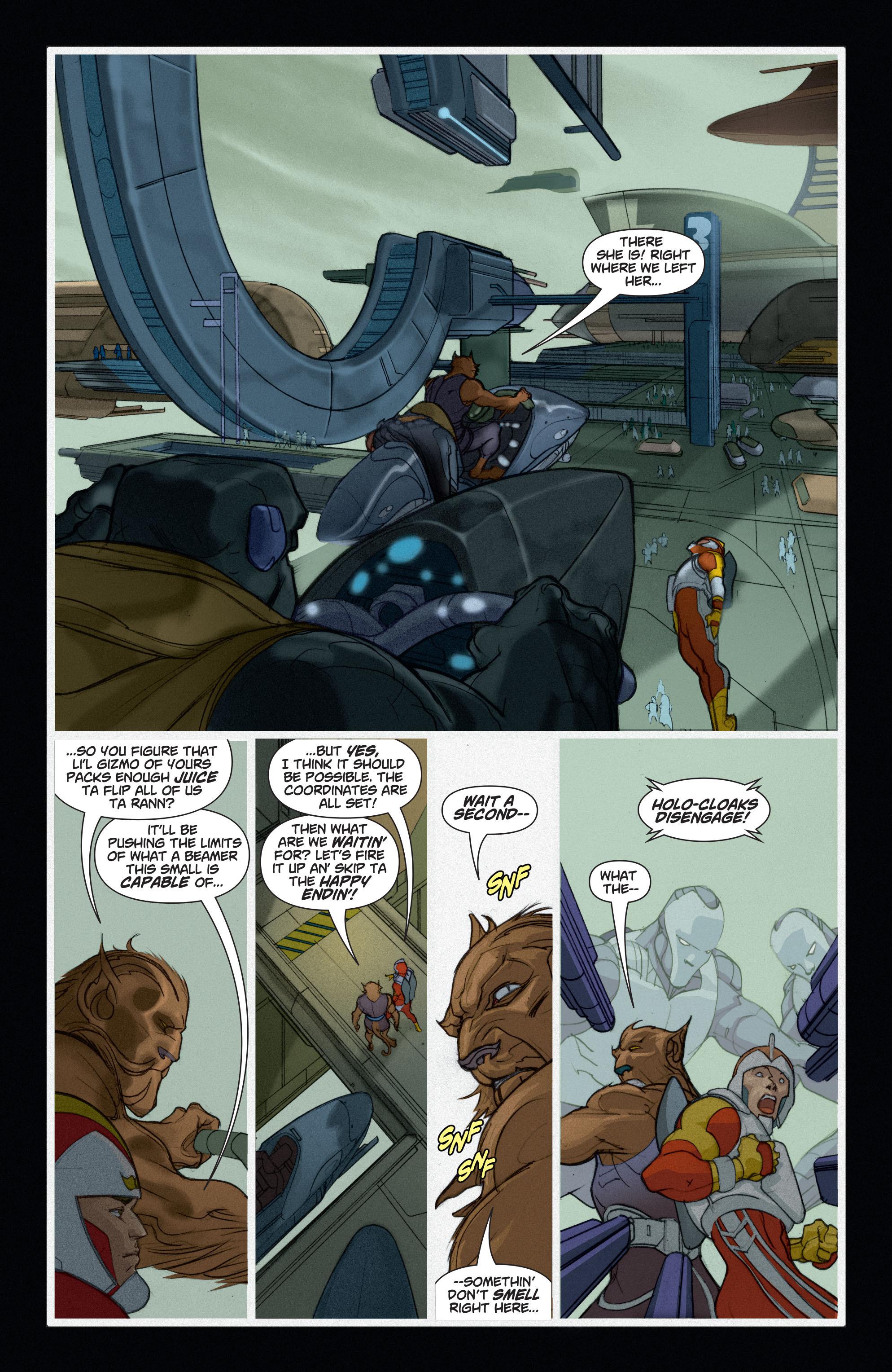 Read online Adam Strange (2004) comic -  Issue #6 - 12