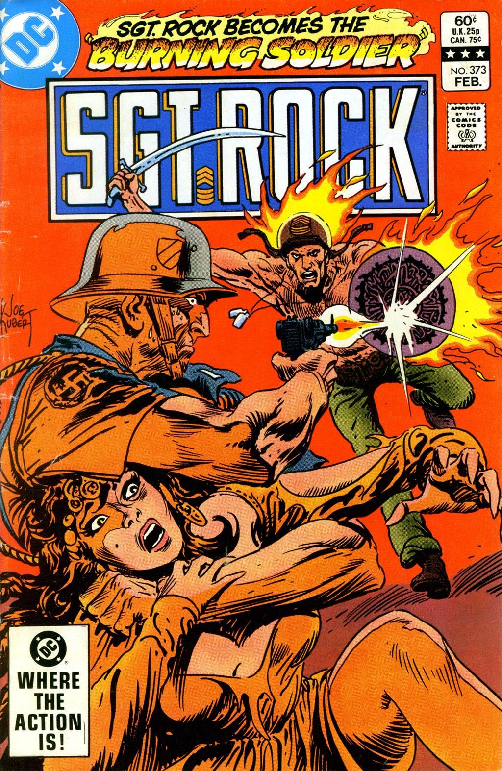 Read online Sgt. Rock comic -  Issue #373 - 1
