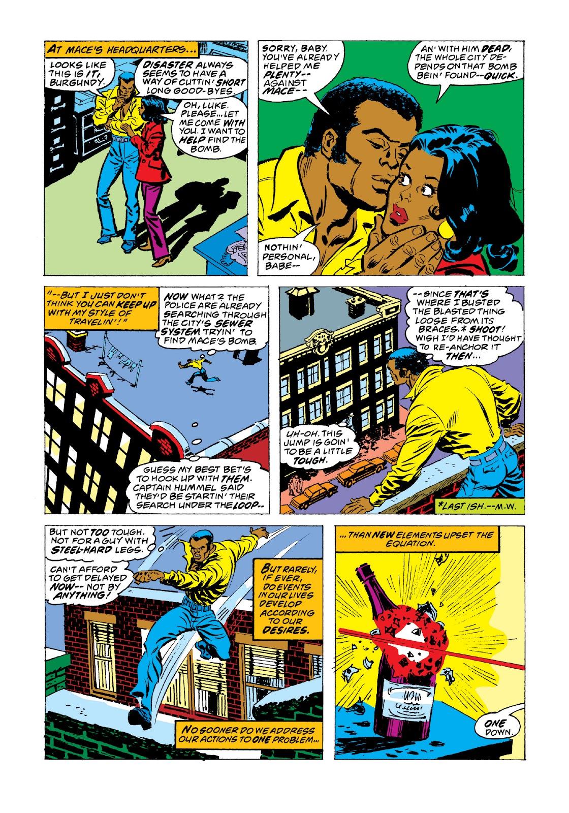 Read online Marvel Masterworks: Luke Cage, Power Man comic -  Issue # TPB 3 (Part 3) - 83