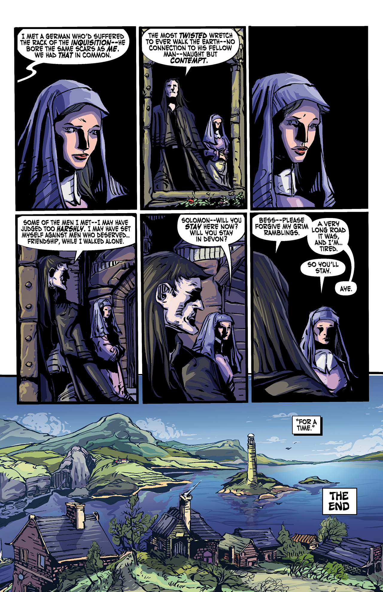 Read online Solomon Kane: Death's Black Riders comic -  Issue #4 - 27