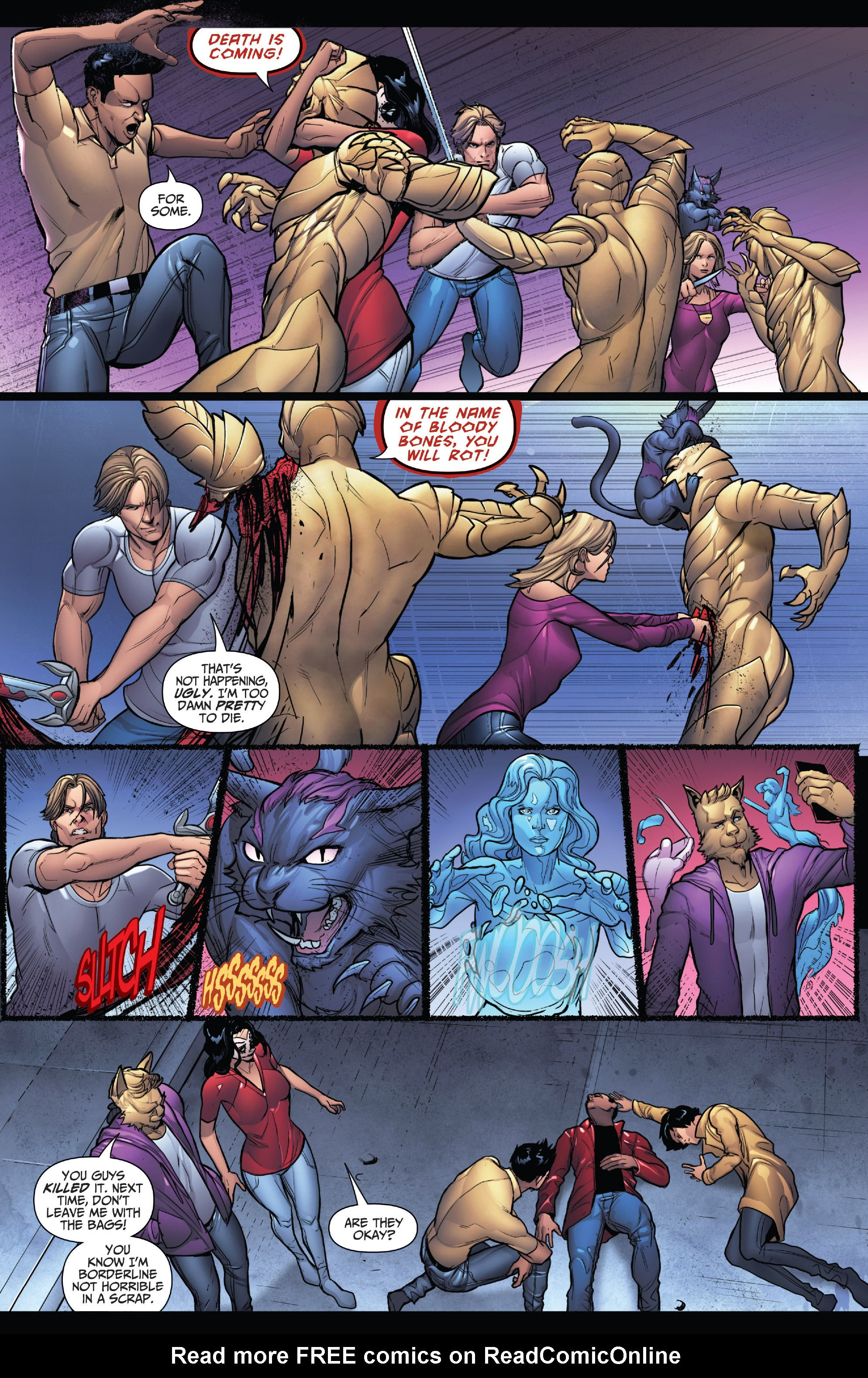 Read online Grimm Fairy Tales: Arcane Acre comic -  Issue # TPB 4 - 107