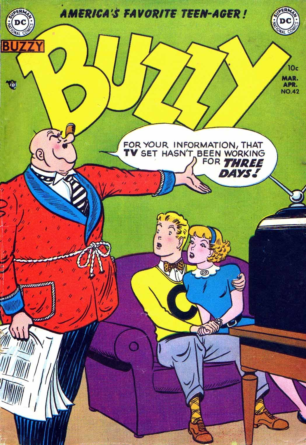 Buzzy issue 42 - Page 1