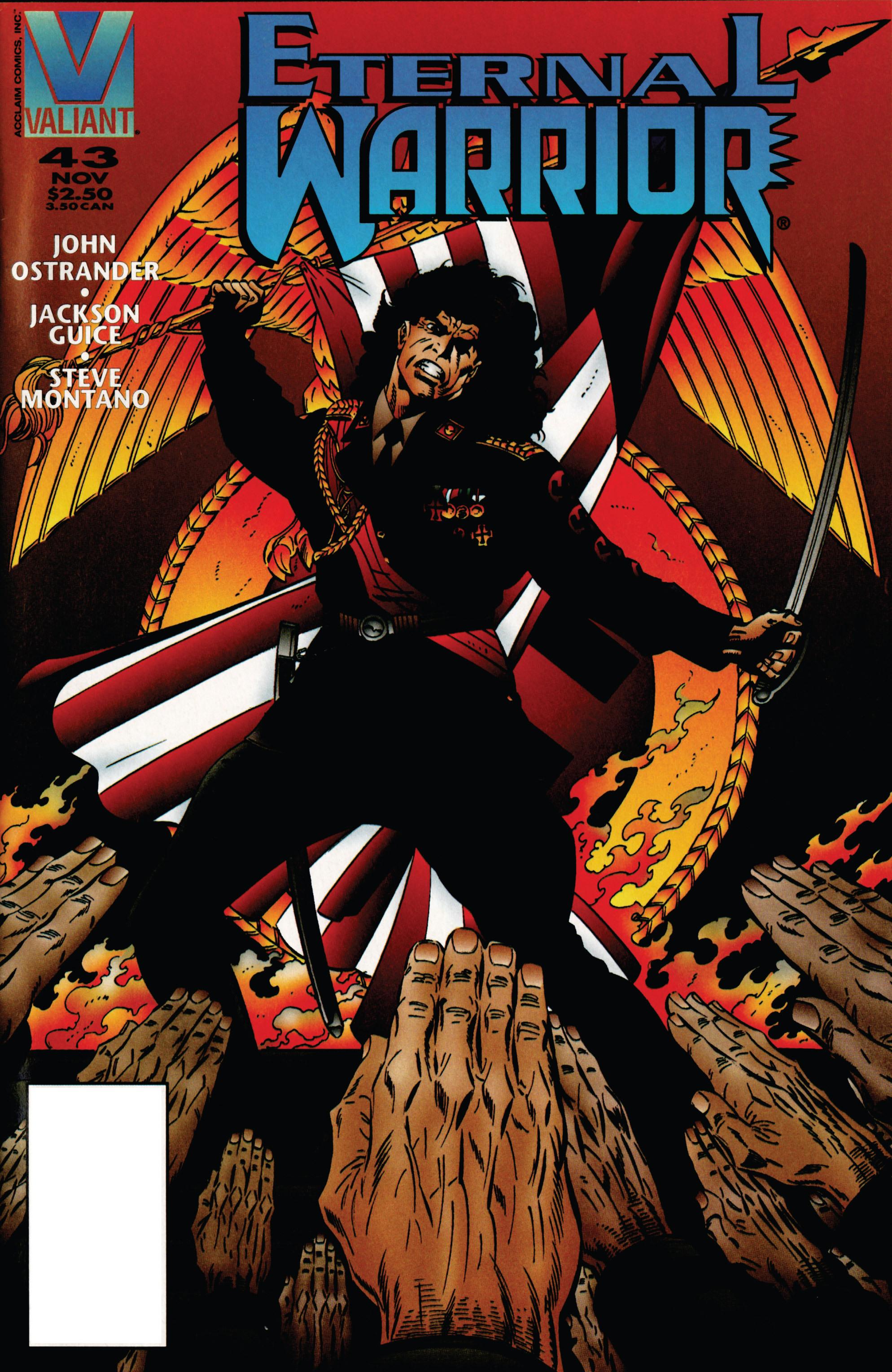 Read online Eternal Warrior (1992) comic -  Issue #43 - 1