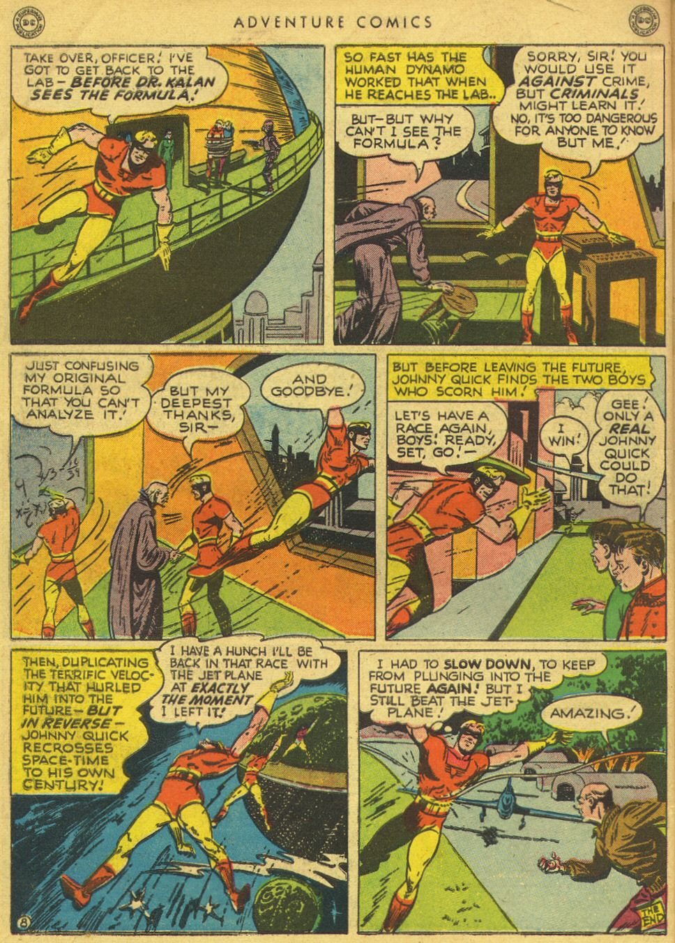 Read online Adventure Comics (1938) comic -  Issue #134 - 48