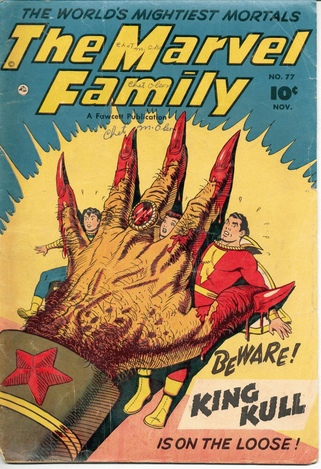 The Marvel Family 77 Page 1