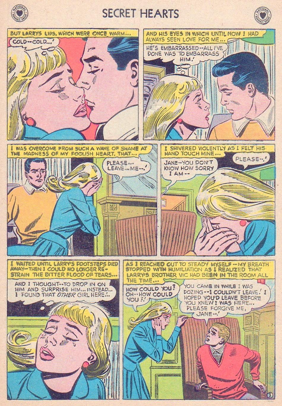 Read online Secret Hearts comic -  Issue #44 - 29