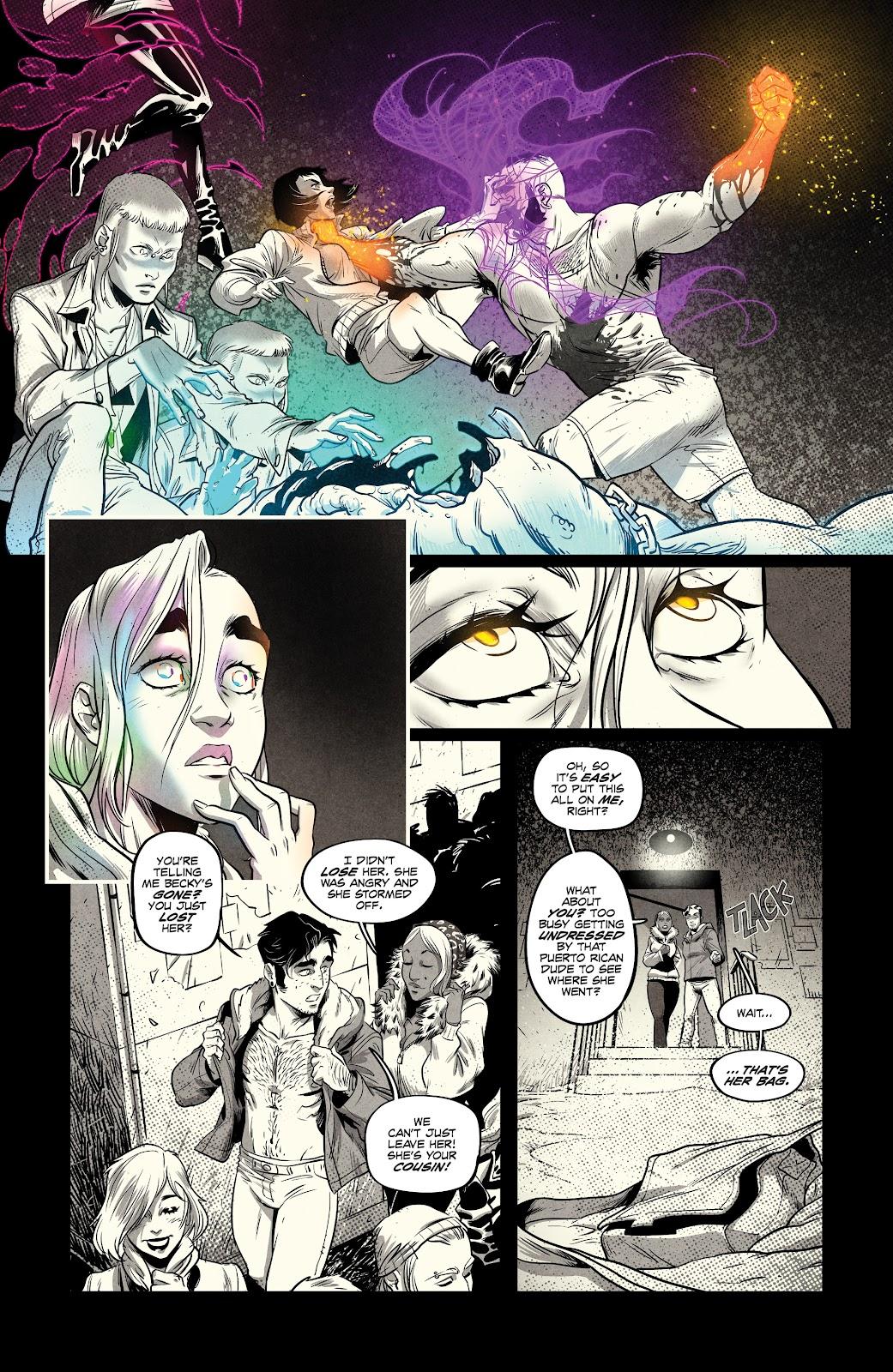 Read online Nomen Omen comic -  Issue #3 - 4