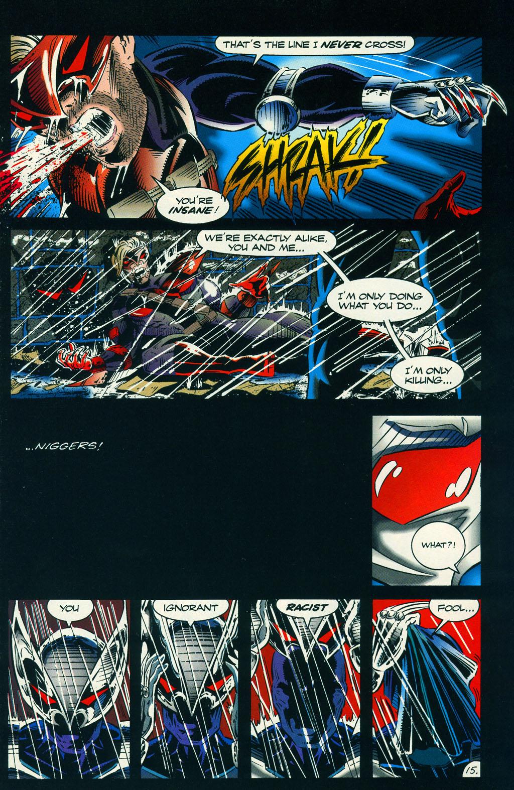 Read online ShadowHawk comic -  Issue #6 - 20