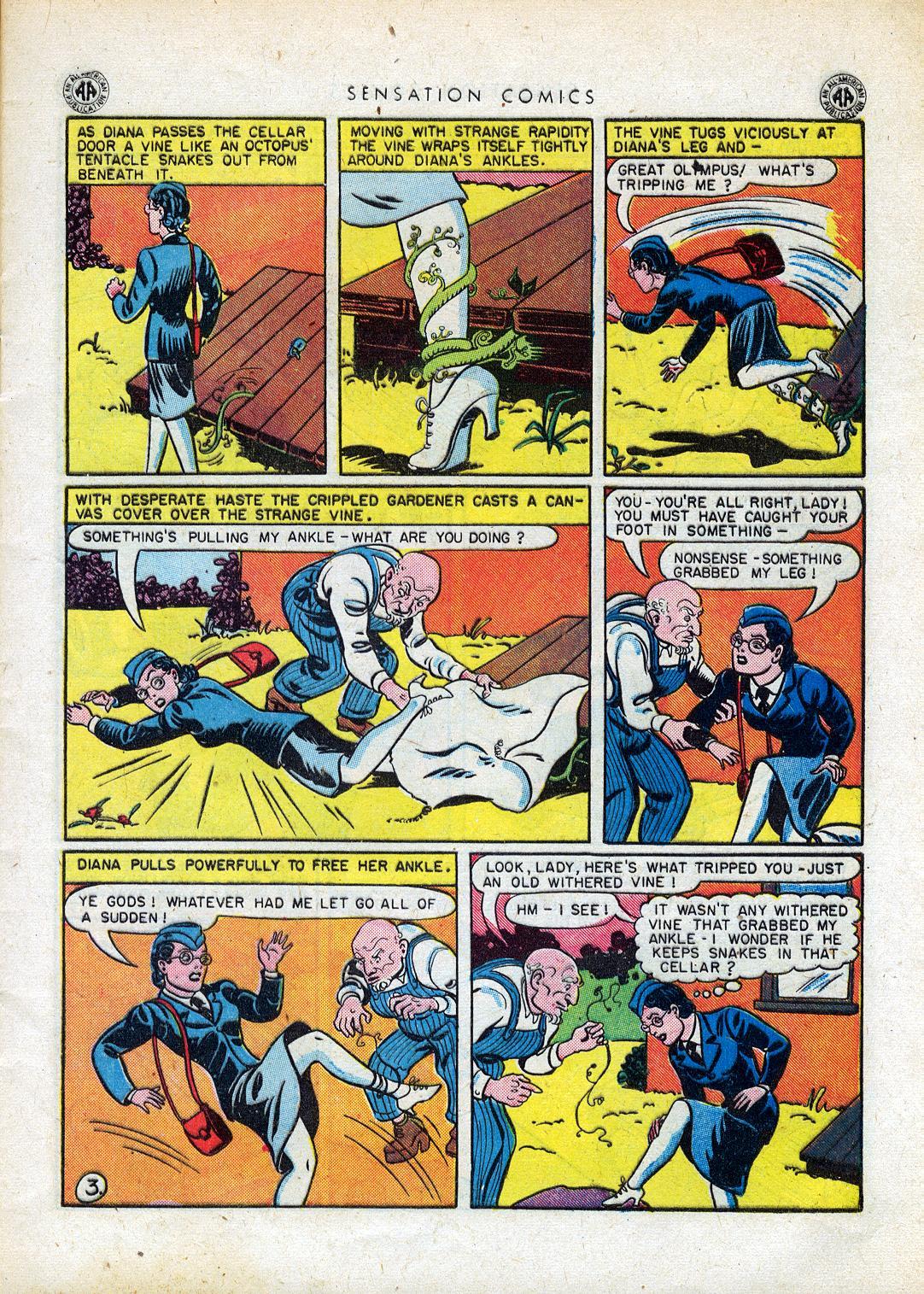 Read online Sensation (Mystery) Comics comic -  Issue #41 - 5