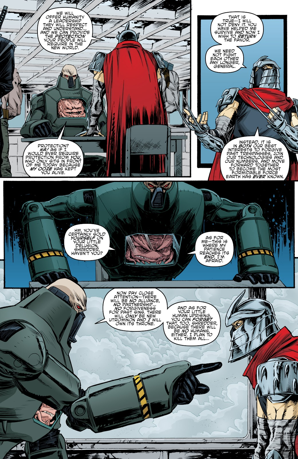 Read online Teenage Mutant Ninja Turtles: The IDW Collection comic -  Issue # TPB 4 (Part 3) - 106