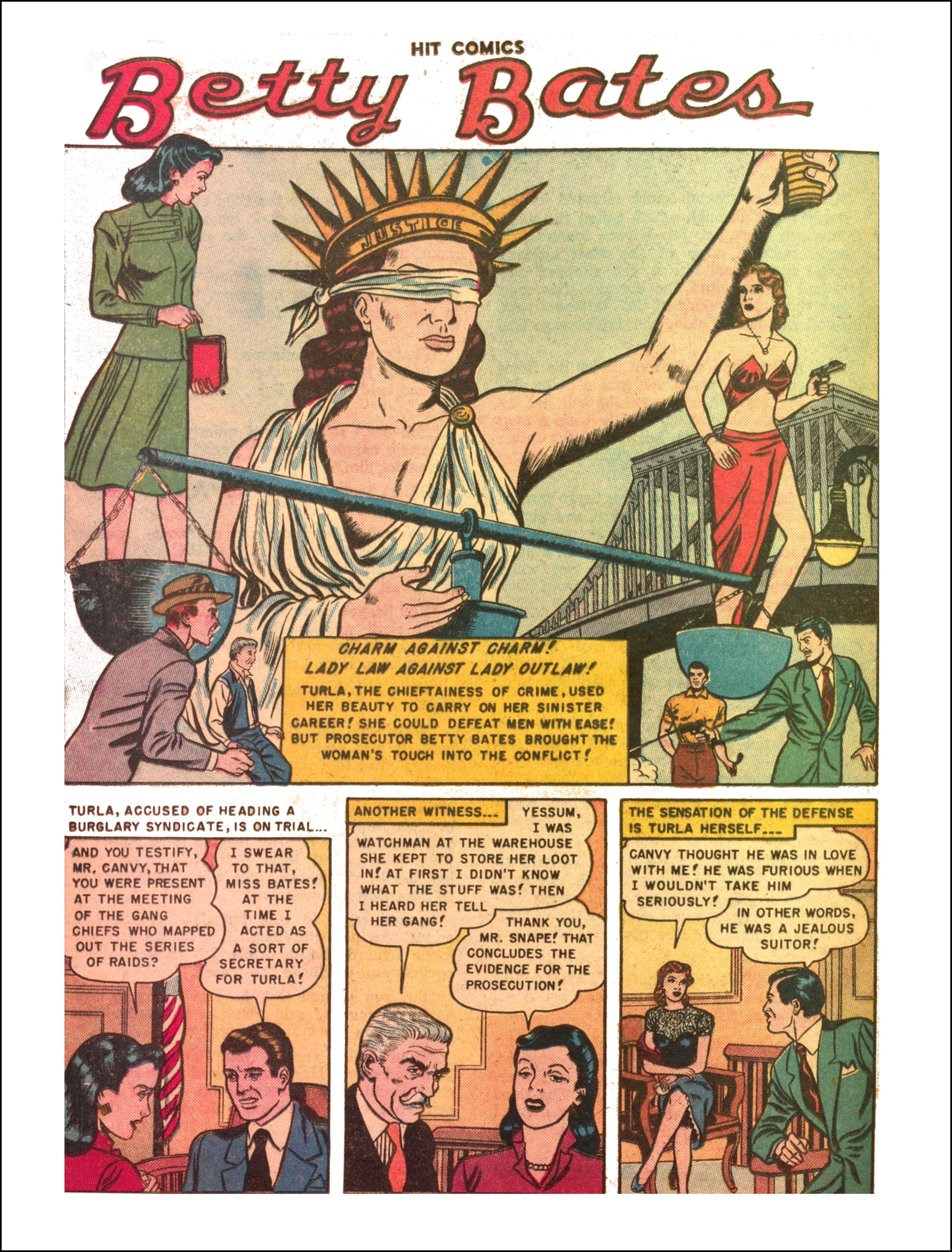 Read online Hit Comics comic -  Issue #65 - 28