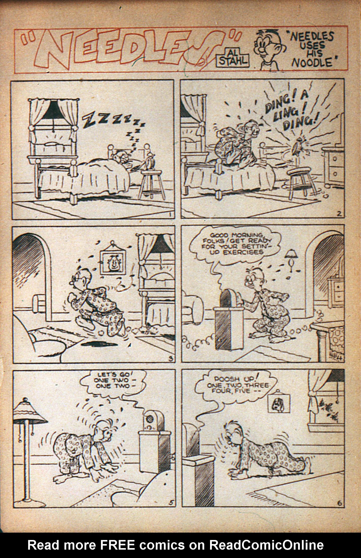 Read online Adventure Comics (1938) comic -  Issue #7 - 23