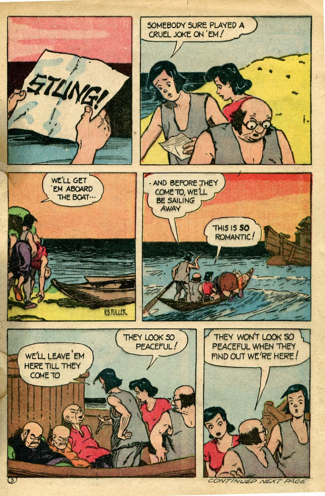 Read online Famous Funnies comic -  Issue #135 - 33