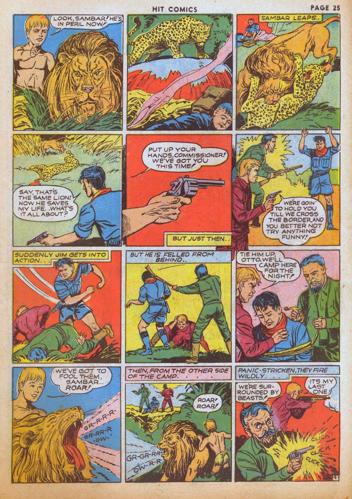Read online Hit Comics comic -  Issue #12 - 27
