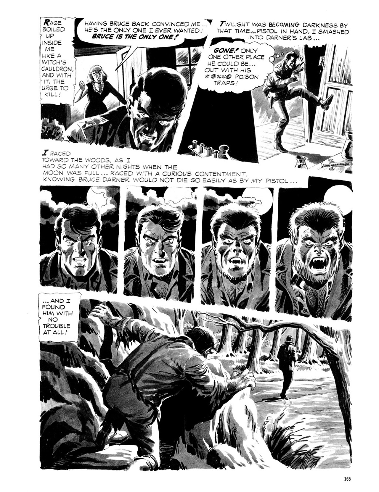 Read online Eerie Archives comic -  Issue # TPB 2 - 166
