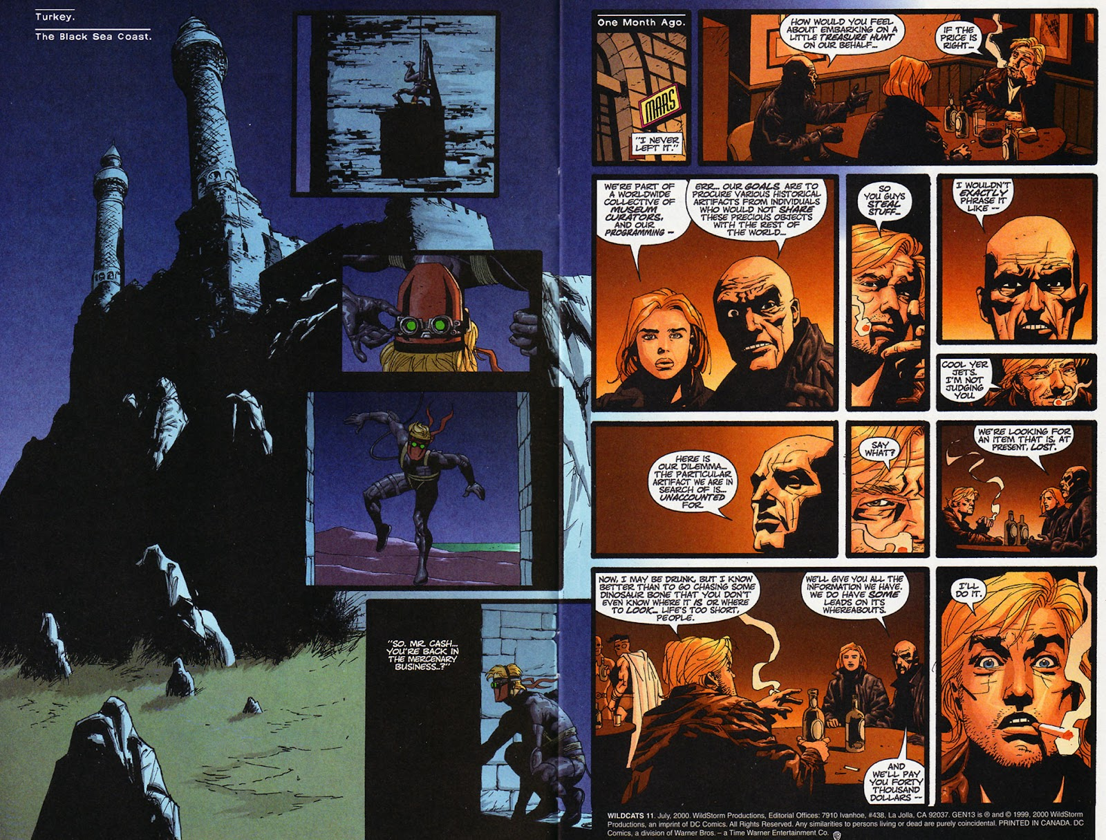 Wildcats (1999) Issue #11 #12 - English 3