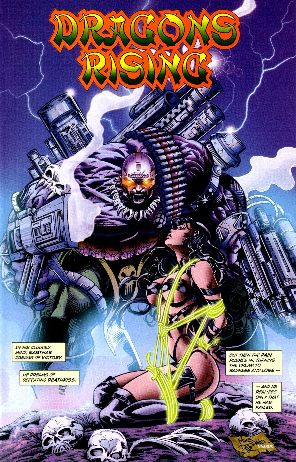 Read online Jade Warriors comic -  Issue #3 - 3