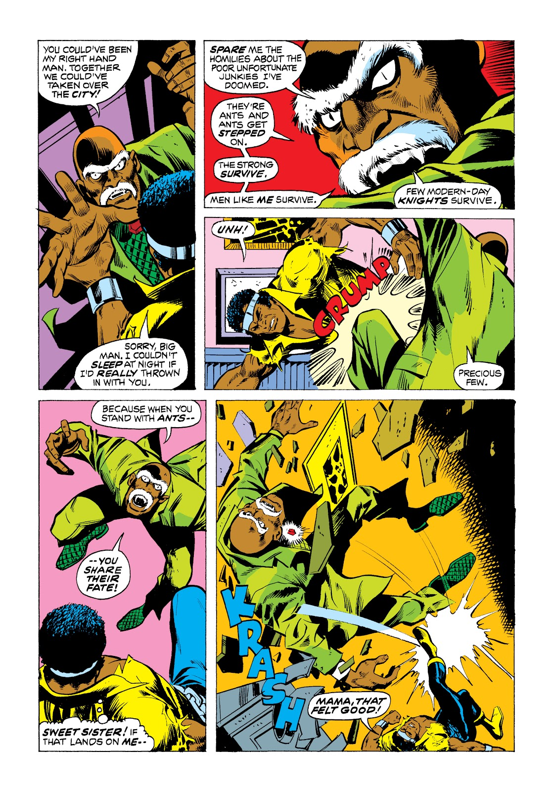 Read online Marvel Masterworks: Luke Cage, Power Man comic -  Issue # TPB 2 (Part 1) - 81