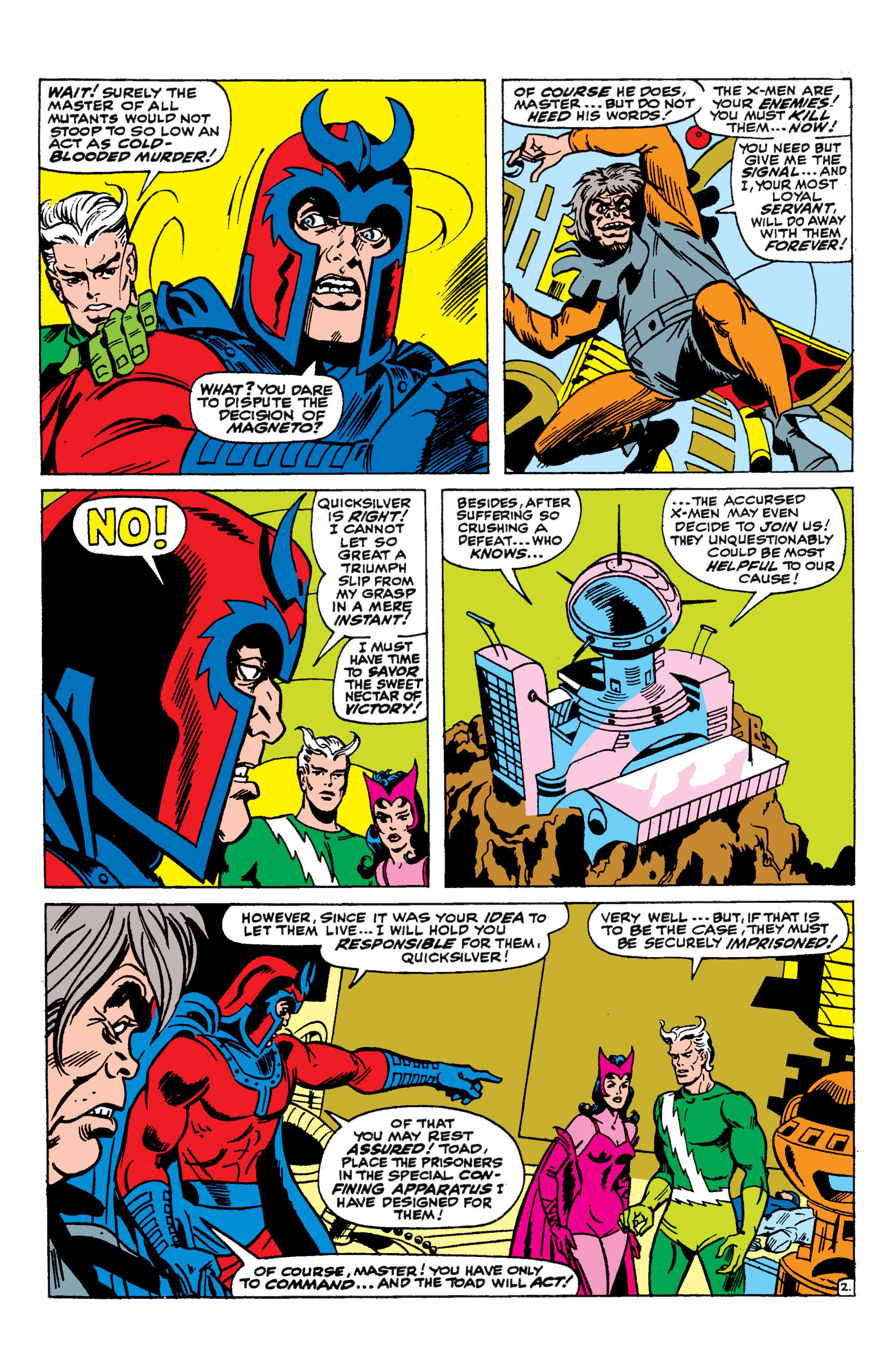 Uncanny X-Men (1963) 44 Page 2