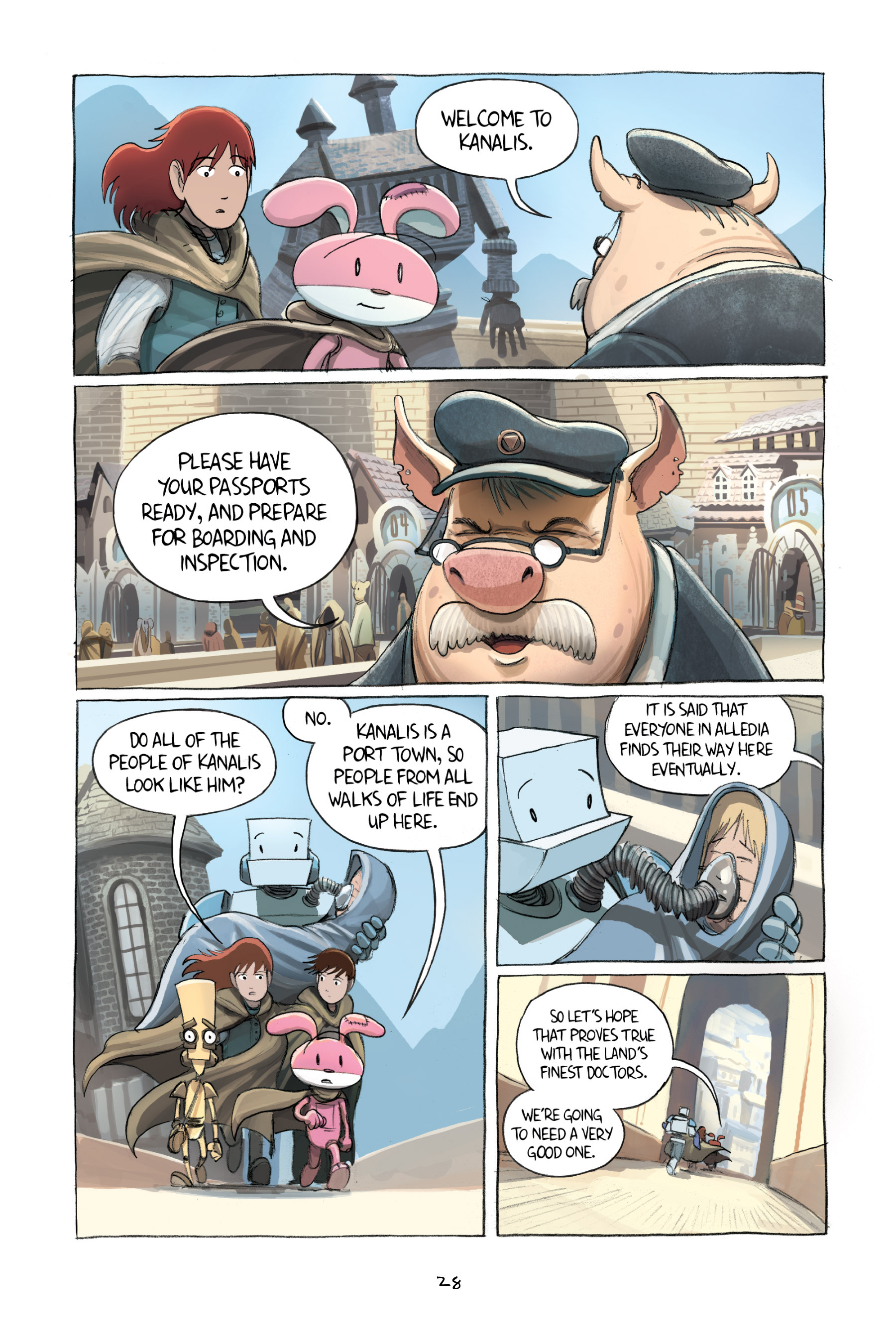 Read online Amulet comic -  Issue #2 - 30